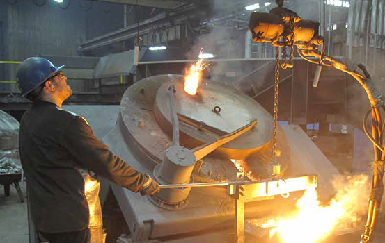 Inductotherm Coreless Induction Furnace, 5500# Capacity Each. Total Capacity 2.76 Tons Per Hour