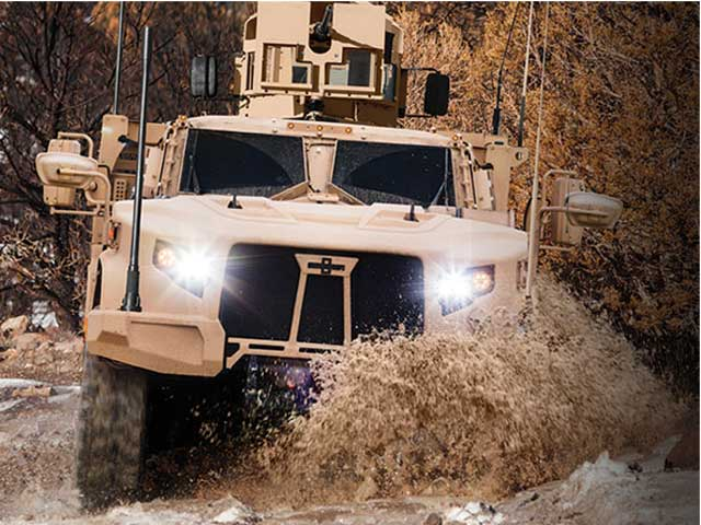 Casting Application: Oshkosh Defense Vehicle